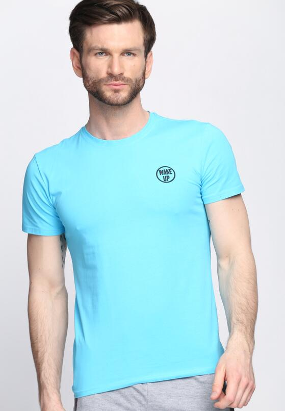 Niebieska Koszulka Go After