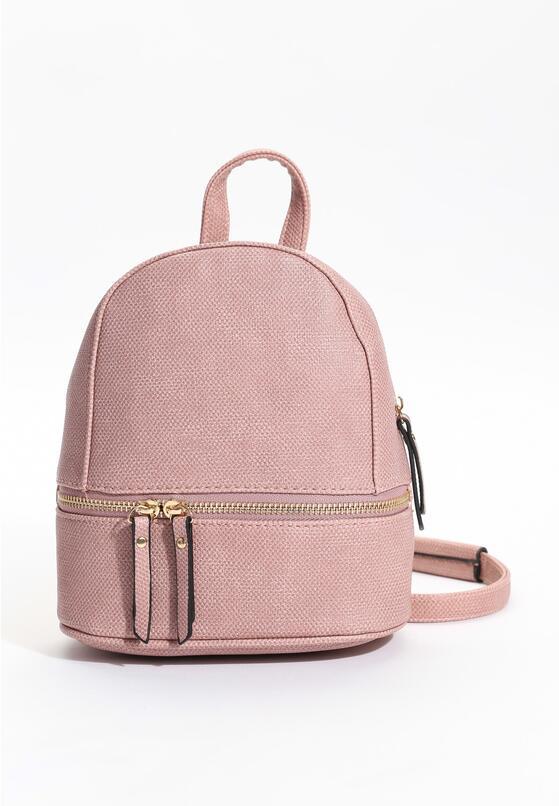 Różowy Plecak Sporty Chic
