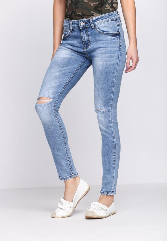 Niebieskie Jeansy No Limit