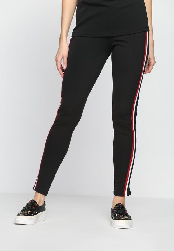 Czarne Spodnie Dresowe  Don't It