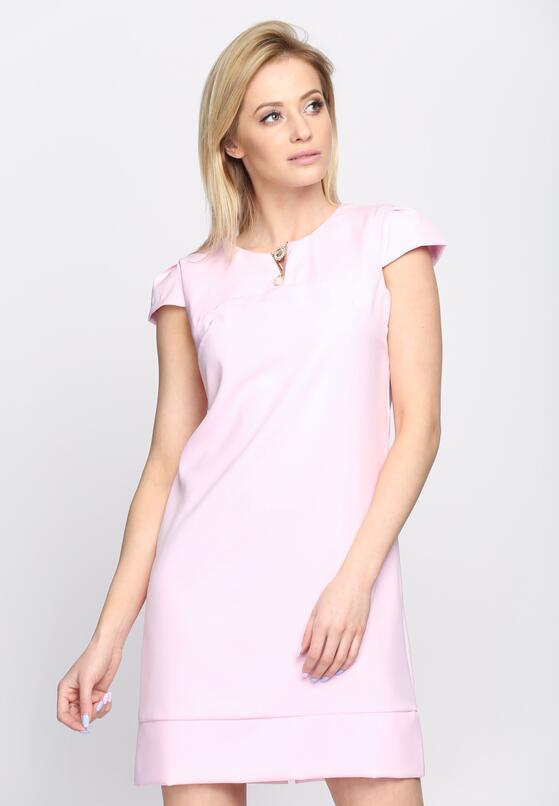 Różowa Sukienka Bossed Up
