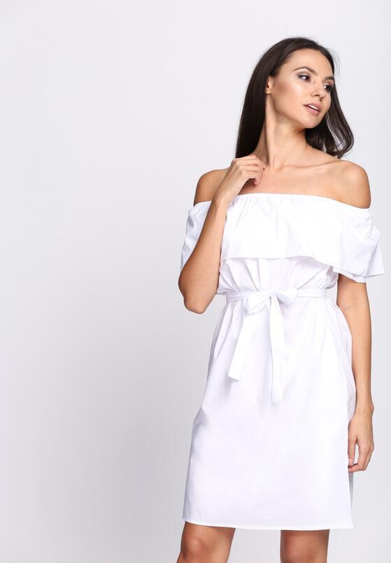 Biała Sukienka Pretty Girl's