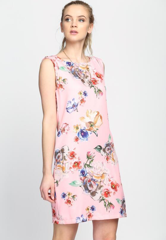 Różowa Sukienka So High