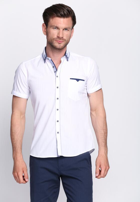 Biało-Niebieska Koszula Gimlet