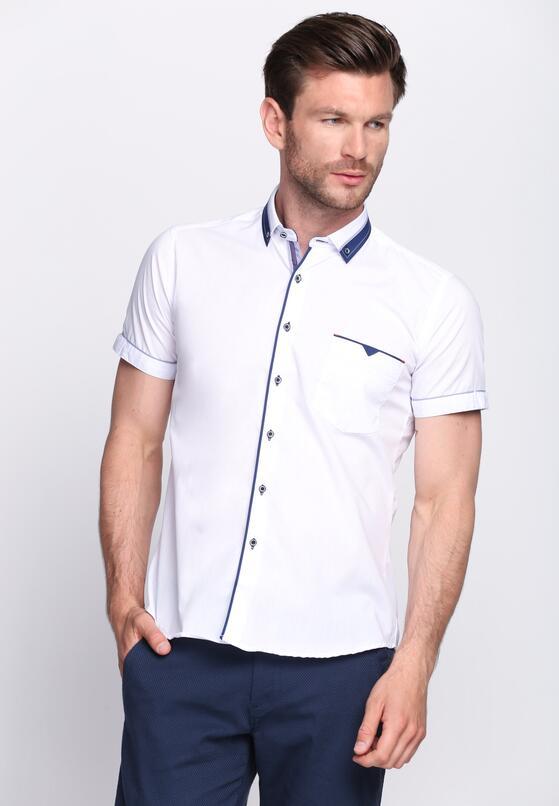 Niebiesko-Biała Koszula Gimlet