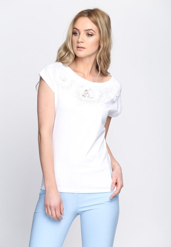Biały T-shirt Millionaire Waltz