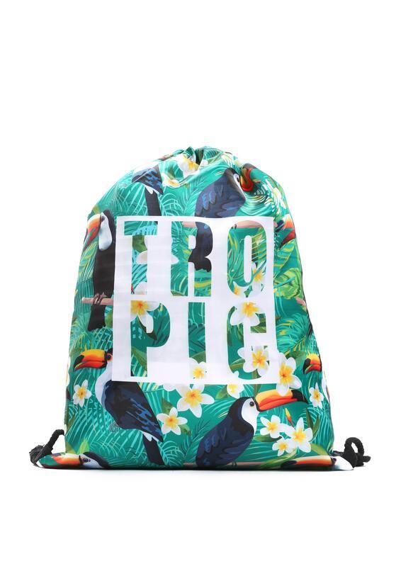 Zielony Plecak The Tropics
