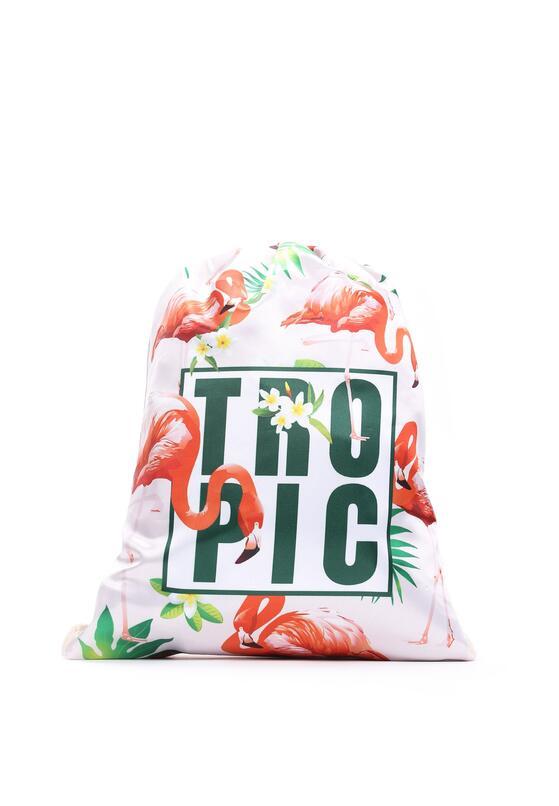 Jasnoróżowy Plecak The Tropics