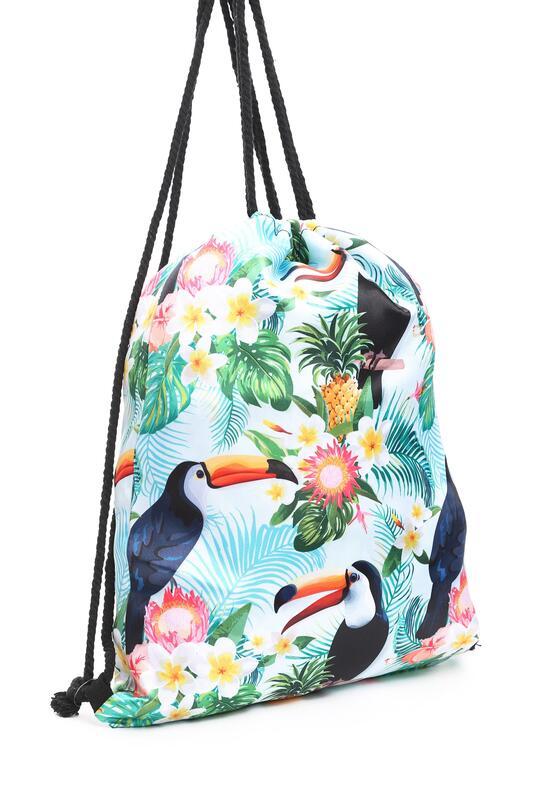 Miętowy Plecak The Tropics