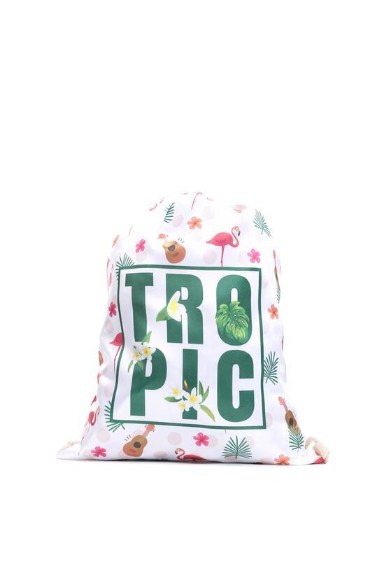 Kremowy Plecak The Tropics