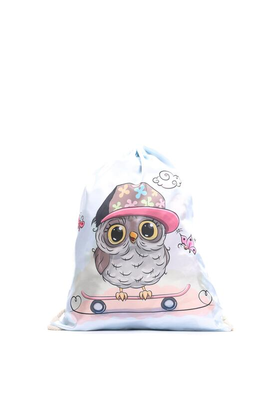Niebiesko-Beżowy Plecak So Cute