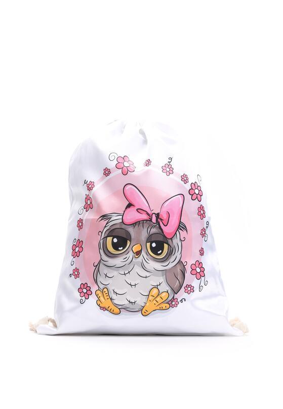 Biało-Różowy Plecak So Cute