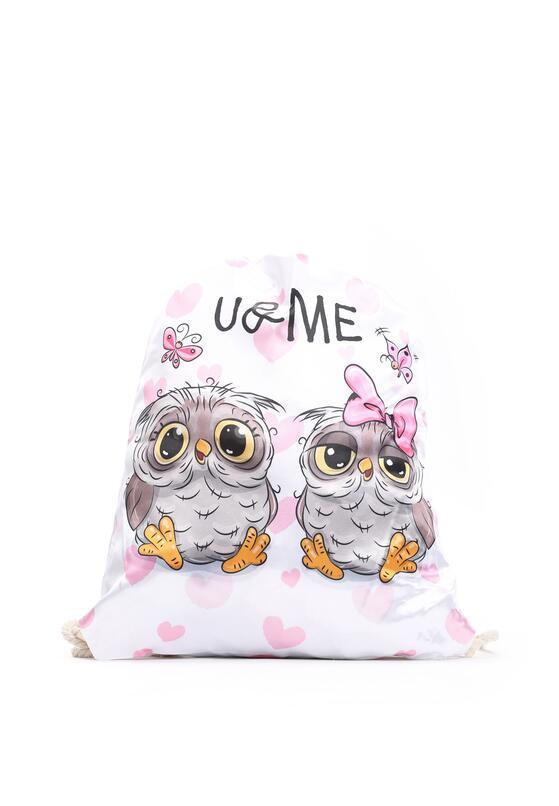 Biało-Beżowy Plecak So Cute