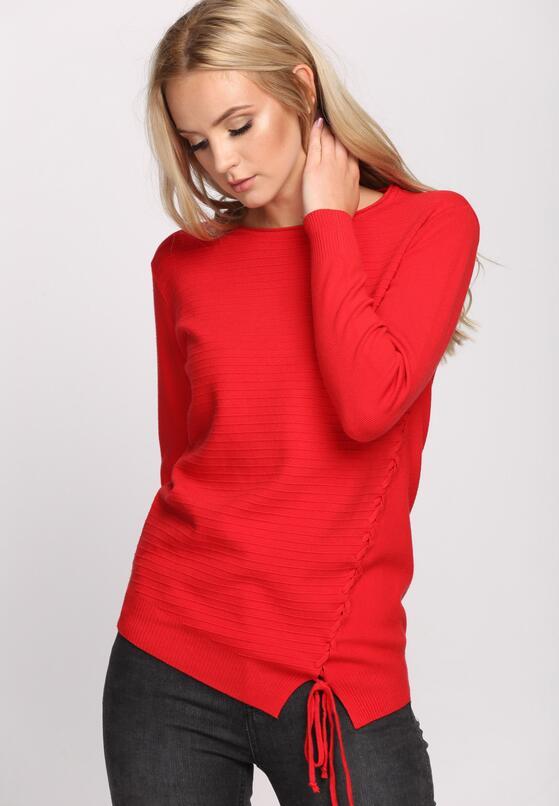 Czerwony Sweter Lifetime