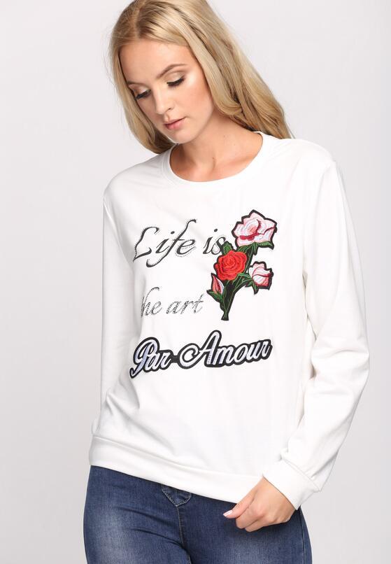 Biała Bluzka Par Amour