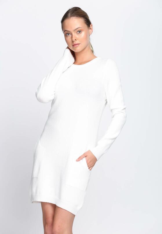 Biała Sukienka El Canto