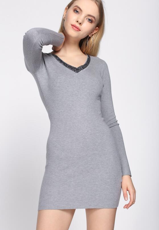 Szara Sukienka By Now