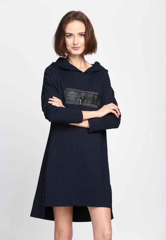 Granatowa Sukienka Good Influence