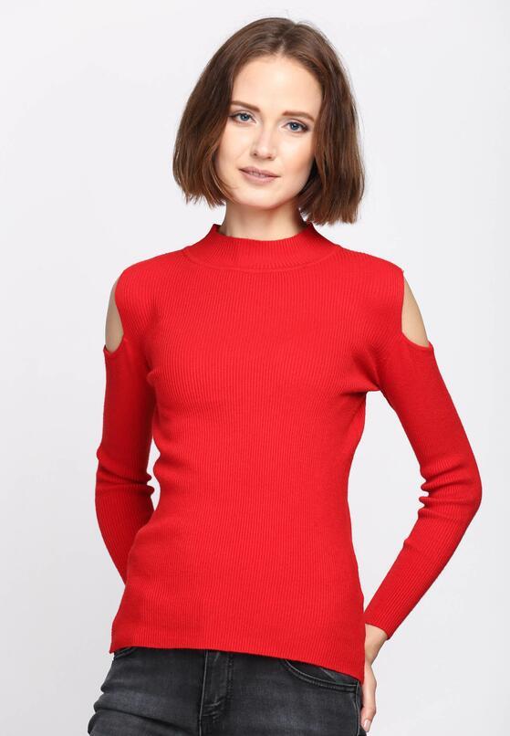 Czerwony Sweter Pointless