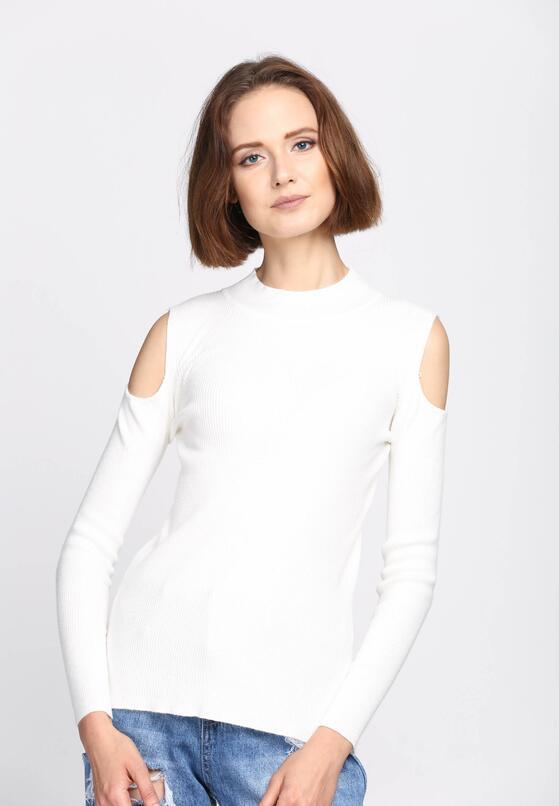 Biały Sweter Pointless