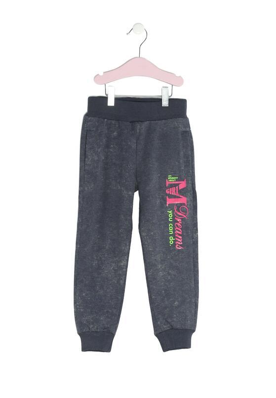 Granatowe Spodnie Dresowe Extensive