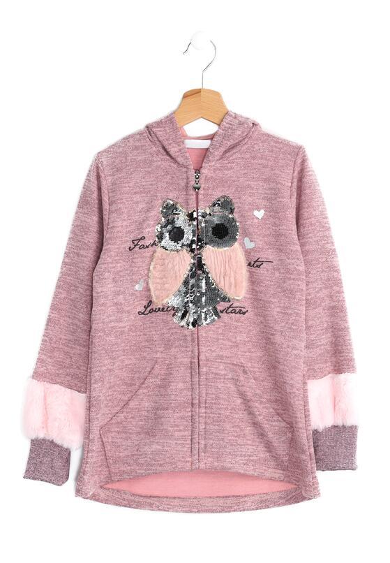 Różowa Bluza Pink Owl