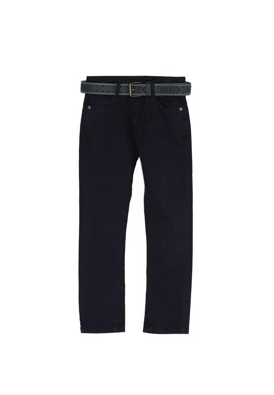 Granatowe Spodnie Know Better