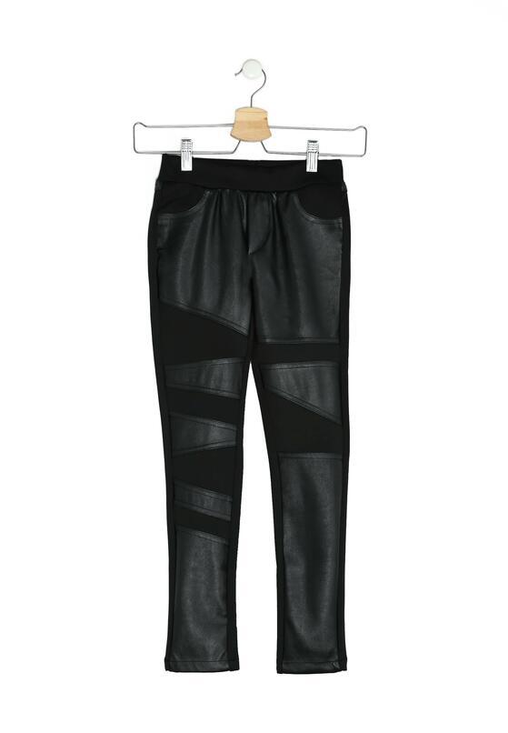 Czarne Spodnie Love Fades