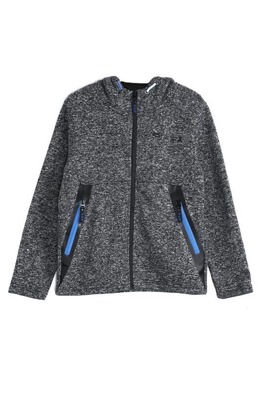 Szaro-Niebieska Bluza Reflexion