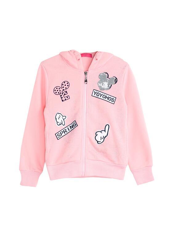 Różowa Bluza Happy Together