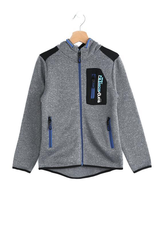 Szaro-Niebieska Bluza Freestyler