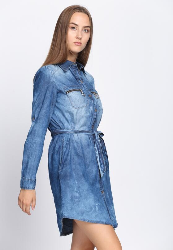 Niebieska Sukienka Dark Side