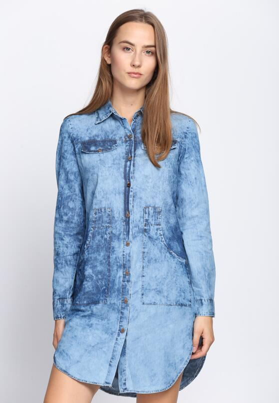 Niebieska Sukienka Unicorn Tears