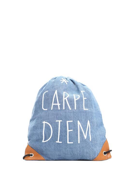 Niebieski Plecak Carpe Diem