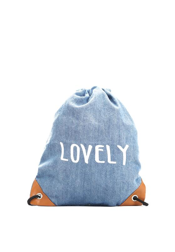 Niebieski Plecak Handed Me