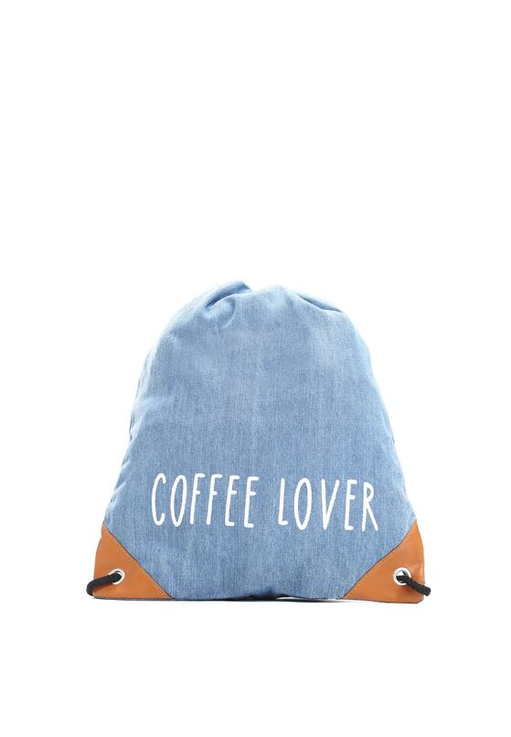 Niebieski Plecak Coffee Lover