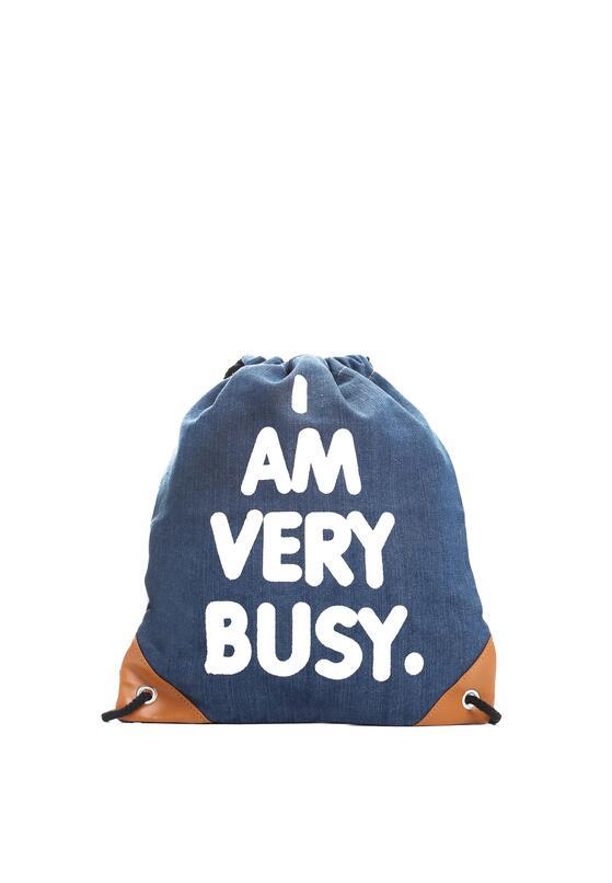Granatowy Plecak I'm Busy