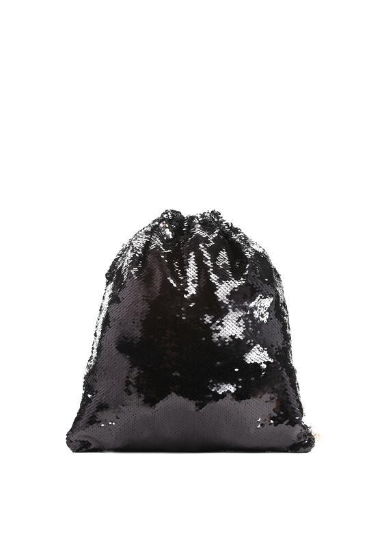 Czarny Plecak Fish Scales