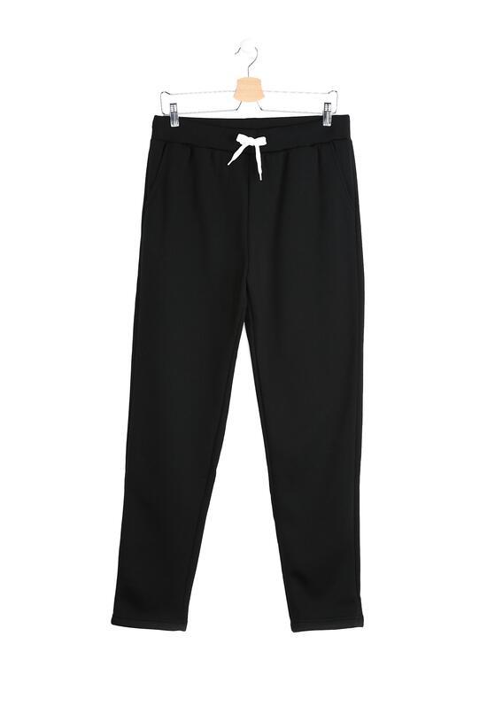 Czarne Spodnie Dresowe Alter