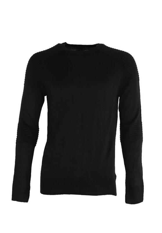 Czarny Sweter Sure To Fall