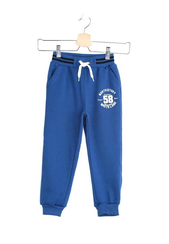 Niebieskie Spodnie Dresowe Just Say Yes