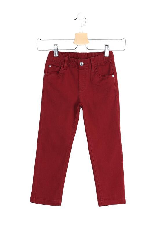 Bordowe Spodnie Sweden