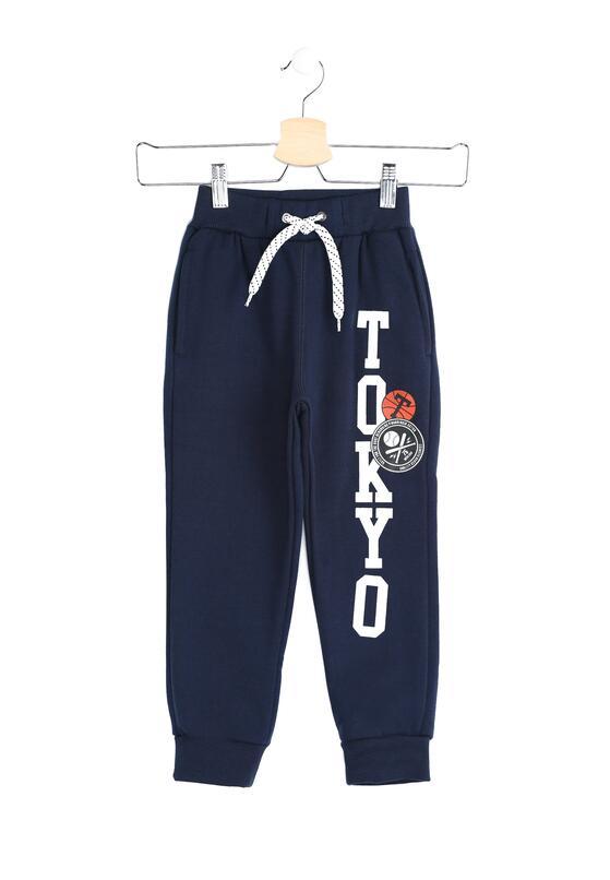 Granatowe Spodnie Dresowe Tokyo Boy