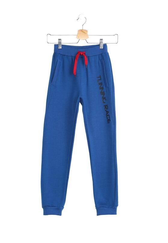 Niebieskie Spodnie Dresowe Quiet Storm