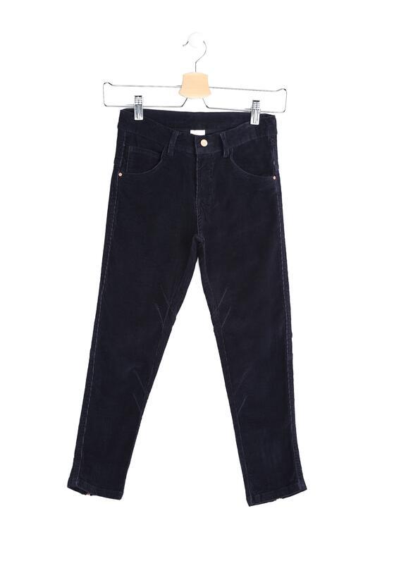 Granatowe Spodnie Join