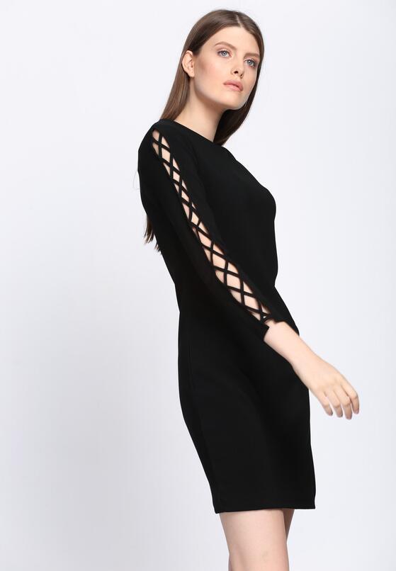 Czarna Sukienka Divergent