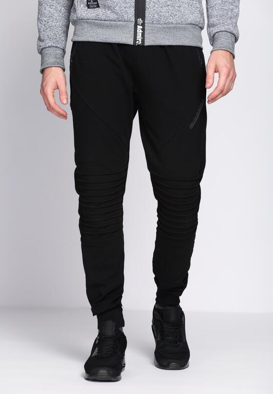 Czarne Spodnie Dresowe Tie the Best
