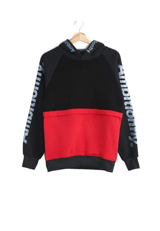 Czarno-Czerwona Bluza Fulfillment