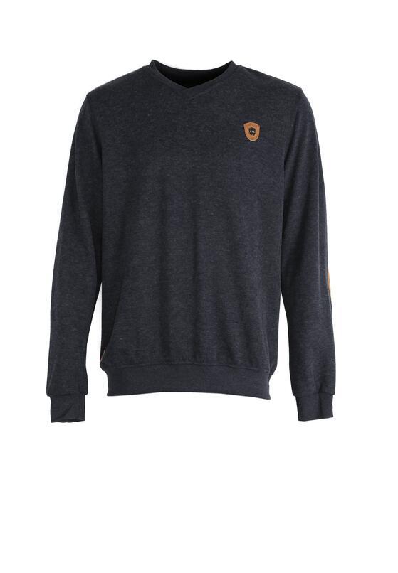 Granatowy Sweter Proprieties