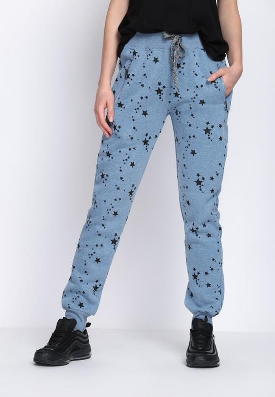 Niebieskie Spodnie Dresowe Madness